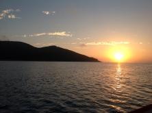 Scawfell sunset