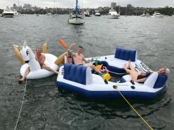 NYE inflatable fun