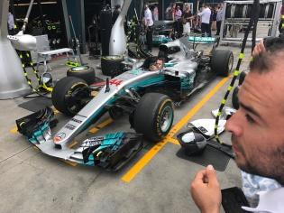 Hamiltons Mercedes