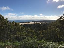 Hilltop beach