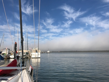 Early fog clearing