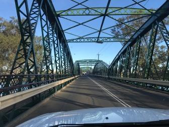 Crossing Burnett River