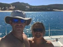Post Dolphin Bay swim