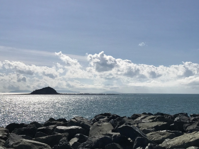 Keswick, St Bees and Scawfell (beyond the rock!) - they really are close to Mackay