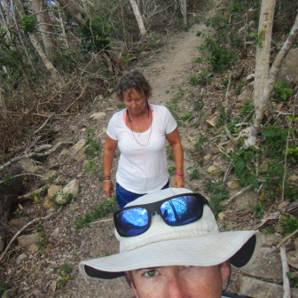 Well maintained trail on the Whitsunday Circuit