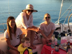 the girls getting into this sailing thing
