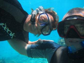 Pete and Sa fish