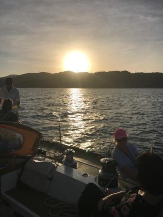 Sunset cruise at Maggie on Pilgrim
