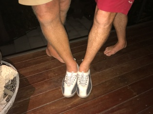 whose legs?
