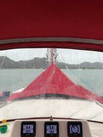 Rain at Horseshoe Bay