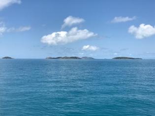 Rounding Fantome Island