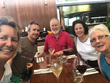 Lunch at Salt House with the Shaws