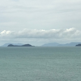 View down the coast to Double Island