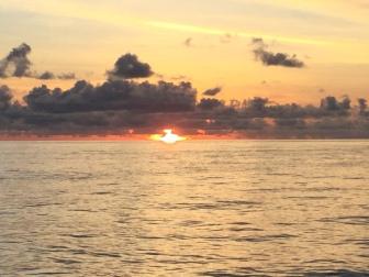 Sunrise in Van Diemen Gulf