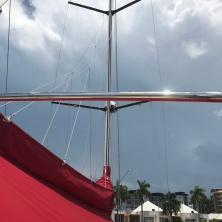 Gathering storm clouds in Darwin